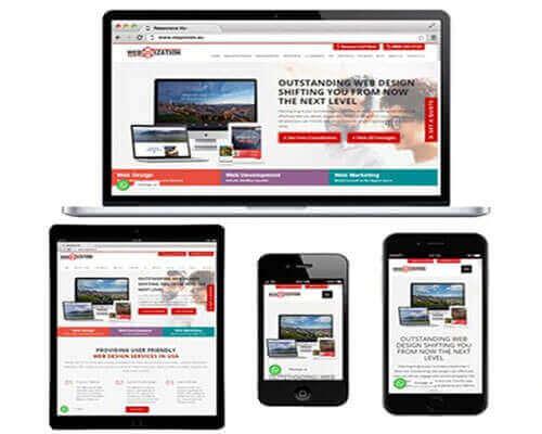 Responsive Web Design Services Webmization
